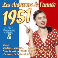Les Chansons De L'annee 1951 - 2CD