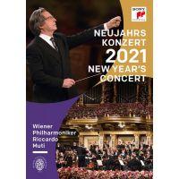 Neujahrskonzert 2021 - Riccardo Muti und Wiener Philharmoniker - DVD
