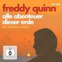Freddy Quinn - Alle Abenteuer Dieser Erde - Die Jubiläums-Edition - 2CD+DVD