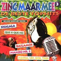 Zing Maar Mee - Volume 3 (Hollandse Karaoke Hits) Karaoke - CD