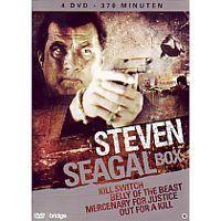 Steven Seagal - 4DVD