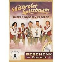 Orig. Sudtiroler Spitzbuam - Geschenk edition - DVD+CD