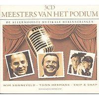 Meesters van het podium - De allermooiste muzikale herinneringen - 3CD