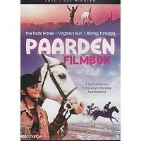 Paarden Filmbox - The Dark Horse - Virginia`s Run - Riding Tornado - 3DVD