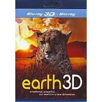 Earth 3D - Blu-ray 3D + Blu-ray (Documentaire)