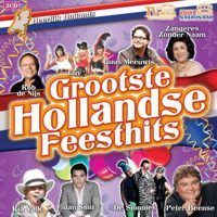 Grootste Hollandse Feesthits - Heerlijk Hollands - 3CD