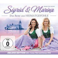 Sigrid und Marina - Das Beste aus Heimatgefuhle - CD+DVD