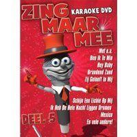 Zing Maar Mee - Deel 5 - Karaoke - DVD