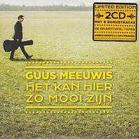 Guus Meeuwis - Het Kan Hier Zo Mooi Zijn - 2CD Limited Edition
