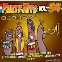 Party Hits - Vol. 34 - Of Je Worst Lust - CD