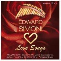 Edward Simoni - Love Songs - Panfluit - CD