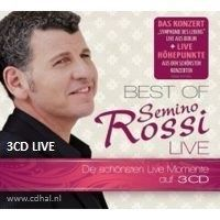 Semino Rossi - Best Of Live - 3CD