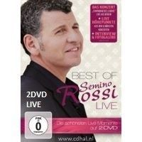 Semino Rossi - Best Of Live - 2DVD