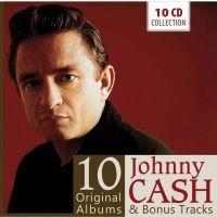 Johnny Cash - 10 Original Albums And Bonus Tracks - 10CD