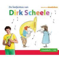 Dirk Scheele - De liedjesbox van Dirk Scheele - 3CD+DVD