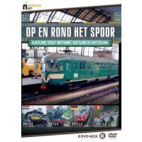 Op En Rond Het Spoor - Nederland, Groot Brittannie, Duitsland en Zwitserland - Documentaire - 8DVD