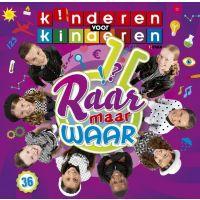 Kinderen voor Kinderen 36 - Raar Maar Waar - CD