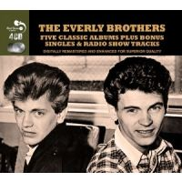 The Everly Brothers - Five Classic Albums plus Bonus - 4CD