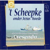 """'t Scheepke onder Jezus hoede - Chr. Urker Visserskoor """"Cresendo"""" - 2CD"""