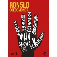Ronald Goedemondt - Vijf Shows - 5DVD