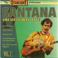 Santana - Greatest Hits Live - Vol. 2 - CD