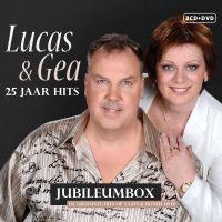 Lucas en Gea - 25 Jaar Hits - Jubileumbox - 2CD+DVD