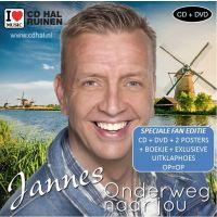 Jannes - Onderweg Naar Jou - Limited Fan Editie - CD+DVD