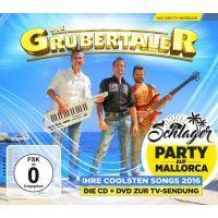 Die Grubertaler - Schlagerparty auf Mallorca - CD+DVD