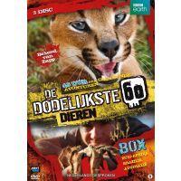 BBC Earth - De Dodelijkste 60 Dieren Box - 3DVD