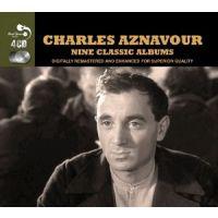 Charles Aznavour - Nine Classic Albums - 4CD