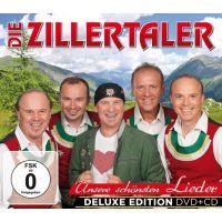 Die Zillertaler - Unsere schonsten Lieder - Deluxe Edition - CD+DVD