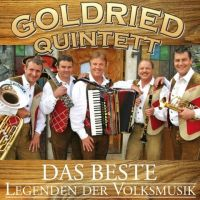 Goldried Quintett - Das Beste - Legenden der Volksmusik - CD