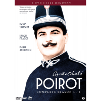 Agatha Christie - Poirot - Complete Season 4-6 - 6DVD