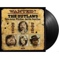 Waylon Jennings, Willie Nelson, Jessi Colter, Tompall Glaser - Wanted! The Outlaws - LP