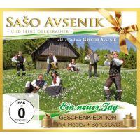 Saso Avsenik Und Seine Oberkrainer - Ein Neuer Tag - Geschenk Edition - CD+DVD