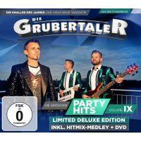 Die Grubertaler - Die Grossten Partyhits Vol. 9 - CD+DVD