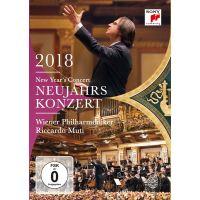 Neujahrskonzert 2018 - Riccardo Muti und Wiener Philharmoniker - DVD