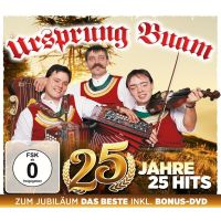 Ursprung Buam - 25 Jahre - 25 Hits - CD+DVD