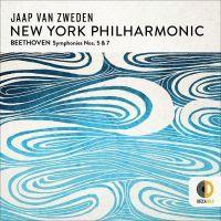 Jaap van Zweden New York Philharmonic - Beethoven Symonies Nos. 5 & 7 - CD