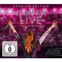 Andrea Berg - Atlantis Live - Das Heimspiel - Premium Edition - 2CD+DVD