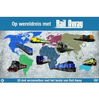 Rail Away - Op Wereldreis Met Rail Away - 20DVD