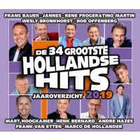 De 34 Grootste Hollandse Hits - Jaaroverzicht 2019 - 2CD