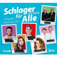 Schlager Fur Alle - Fruhling/Sommer 2021 - 3CD
