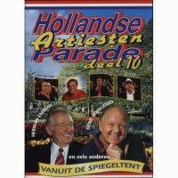 Hollandse Artiesten Parade Deel 10 - DVD