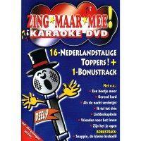 Zing maar mee! Deel 9, Karaoke DVD, 16 Nederlandstalige toppers + Bonustrack!