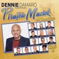 Dennie Damaro Presenteert Piraten Muziek Uit Vlaanderen - Deel 4 - CD