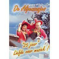 De Alpenzusjes - 25 jaar, liefde voor de muziek! - DVD