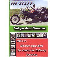 Burdy - Vol gas deur Grunnen - DVD