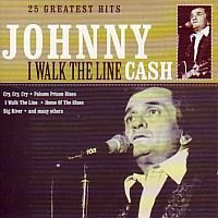 Johnny Cash - I Walk The Line - 25 greatest hits - CD