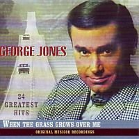 George Jones - 24 Greatest Hits, When the grass grows over me - CD